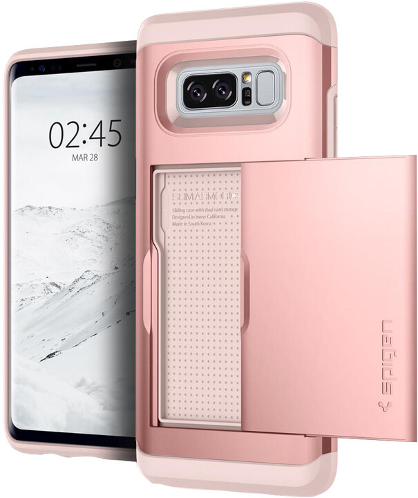 Spigen Slim Armor CS pro Galaxy Note 8, rose gold