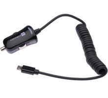 CONNECT IT CI-436 nabíječka do auta s microUSB kabelem