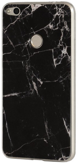 EPICO pružný plastový kryt pro Huawei P9 Lite 2017 MARBLE - black