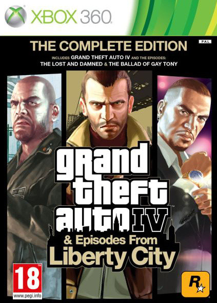 Grand Theft Auto IV Complete - X360