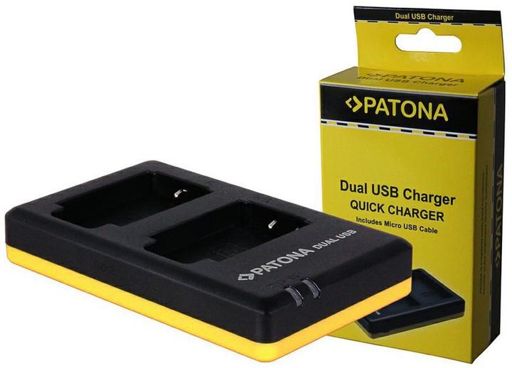 Patona nabíječka pro foto Dual Quick Canon NB-10L USB