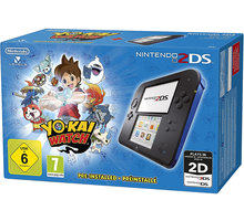 Nintendo 2DS Black & Blue + YO-KAI WATCH - NI3H911