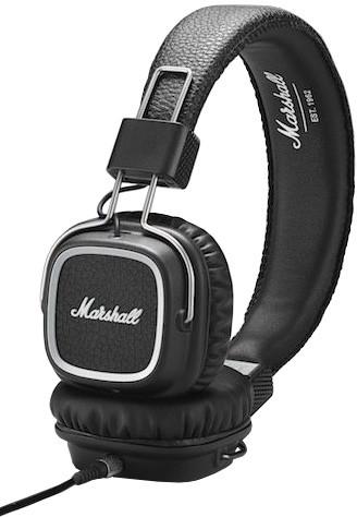 Marshall Major II Steel, černá