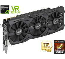 ASUS GeForce GTX 1080 ROG STRIX-GTX1080-A8G-GAMING, 8GB GDDR5X - 90YV09M2-M0NM00 + Kupon na hru Destiny 2, platnost od 13.6.2017 - 27.6.2017