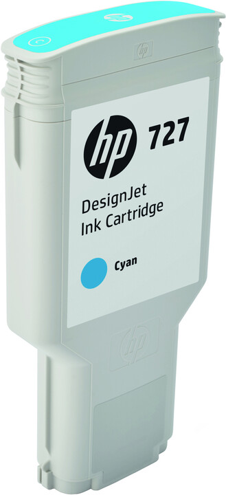 HP F9J76A no. 727 (300ml), cyan