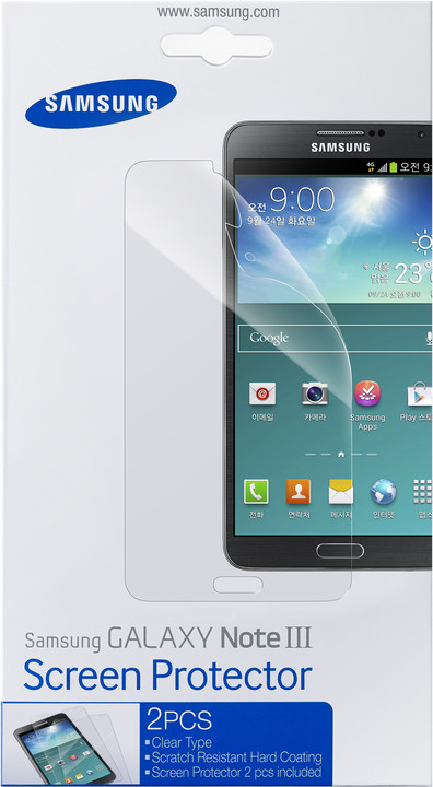 Samsung ET-FN900CTE ochranná fólie pro Galaxy Note 3