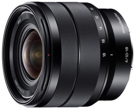 Sony E 10–18mm f/4 OSS