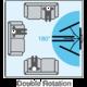 Meliconi 580409 CME Double Rotation EDR 100 nástěnný náklonný držák na TV, černá