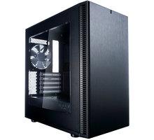 Fractal Design Define Mini C, černá (okno) - FD-CA-DEF-MINI-C-BK-W