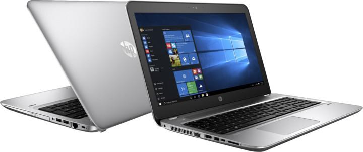 HP ProBook 455 G4, stříbrná
