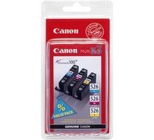 Canon CLI-526 C/M/Y Pack, barevné
