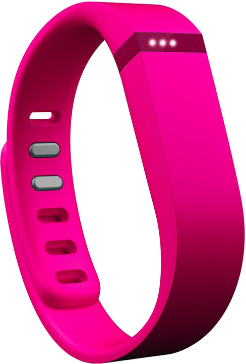 Fitbit příslušenství pro Flex náhradní pásek - Pink - Large