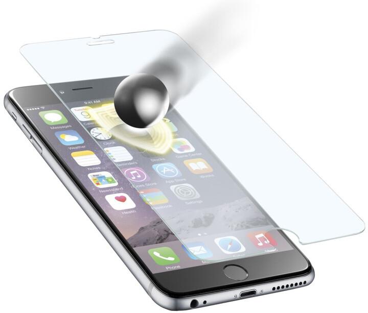 CellularLine Glass TETRA FORCE GLASS ochranné tvrzené sklo pro Apple iPhone 6 Plus, prémiové