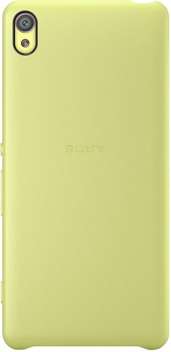 Sony SBC26 Style Back Cover Xperia XA, limetková/zlatá