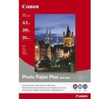 Canon Foto papír SG-201, A3, 20 ks, 260g/m2, pololesklý - 1686B026