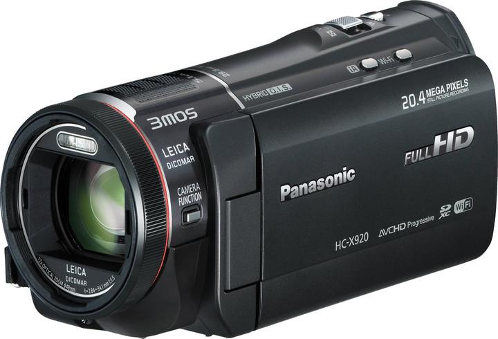 Panasonic HC-X920EP-K, černá