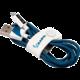 Tribe Vespa Lightning kabel (120cm) - Modrý