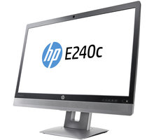 "HP EliteDisplay E240c - LED monitor 24"" - M1P00AA"