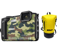 Nikon Coolpix W300, camouflage - Holiday kit - VQA073K001