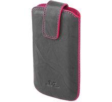 DC pouzdro L T26 Protect(M) Washed, šedá/růžové šití a vnitřek - LCSTOP26WAPIGR