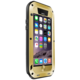 Love Mei Case iPhone 6 Three anti Straight version Golden