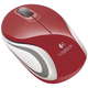 Logitech Wireless Mini Mouse M187, červená