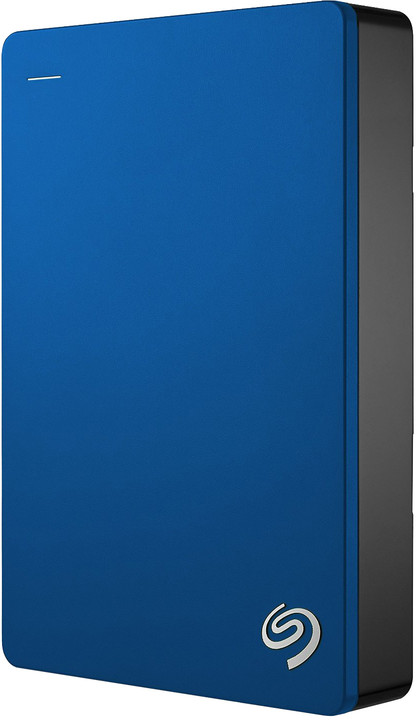 Seagate Backup Plus Port - 4TB, modrá