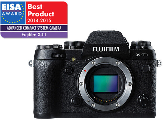 Fujifilm X-T1 + 18-55 mm, černá