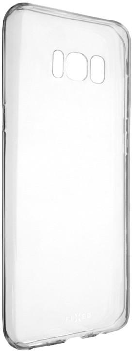FIXED Skin ultratenké TPU gelové pouzdro pro Samsung Galaxy S8 Plus, 0,5 mm, čiré