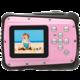 Rollei Sportsline 64, voděodolný, růžová/černá