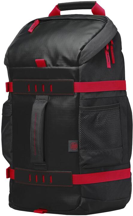 """HP Odyssey Sport Backpack 15.6"""", černo-červená"""