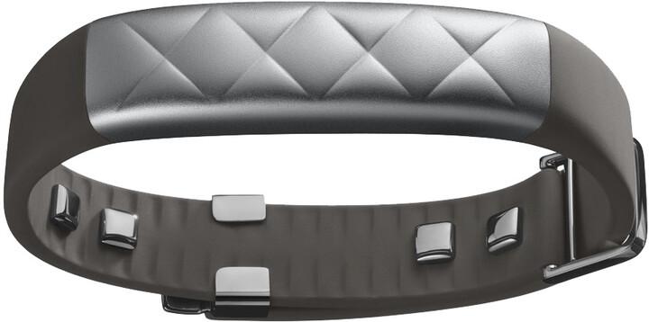 Jawbone UP3, stříbrná