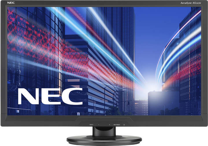 NEC AS242W - LED monitor 24""