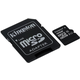 Kingston Micro SDHC 16GB Class 10 UHS-I + SD adaptér