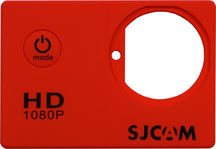 SJCAM ochranný kryt pro SJ4000, červený