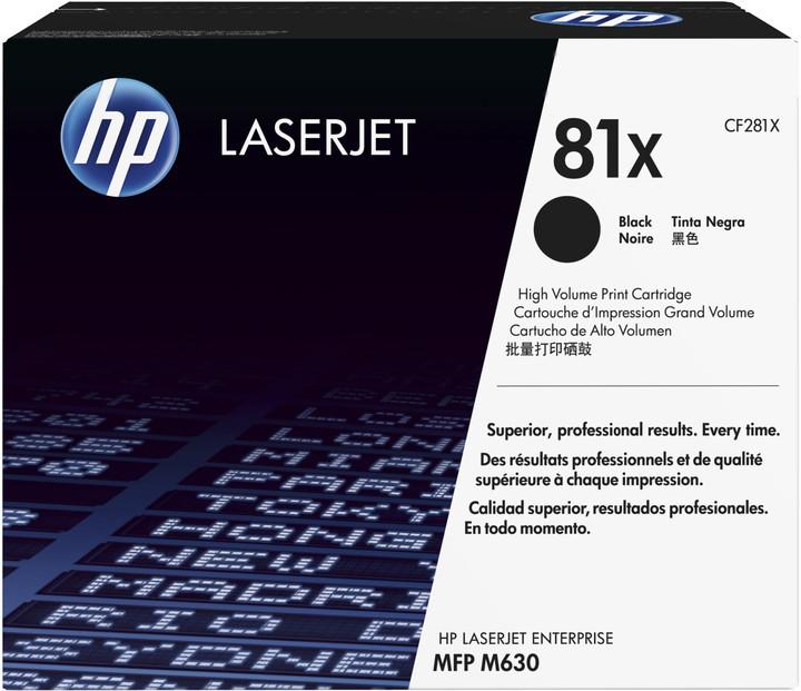 HP CF281X, černá