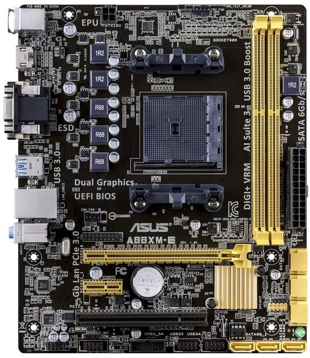 ASUS A88XM-E - AMD A88X