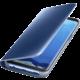 Samsung S8 Flipové pouzdro Clear View se stojánkem, modrá