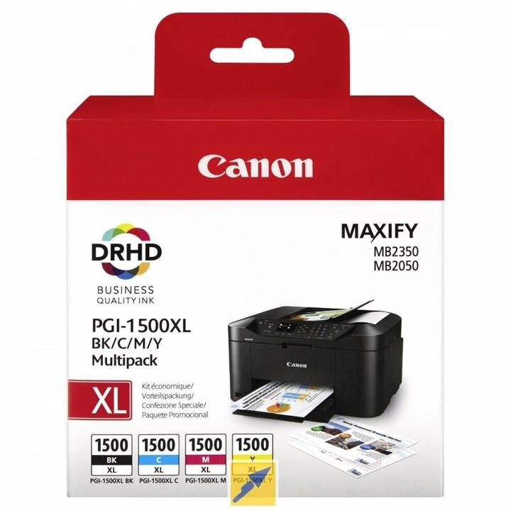 Canon PGI-1500XL BK/C/M/Y Multipack