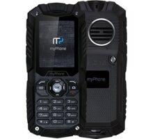 myPhone HAMMER Plus, černá - TELMYHHAPBK