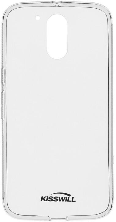 Kisswill TPU pouzdro pro Motorola G4 Plus, transparentní