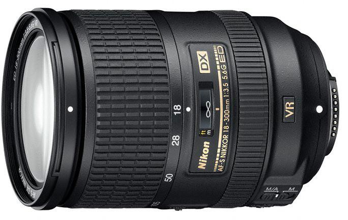 Nikkor 18-300mm f/3.5-5.6G ED AF-S DX VR