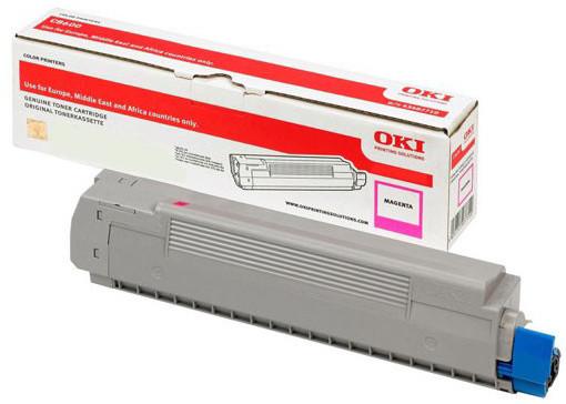 OKI 46507506, (6000 str.), magenta