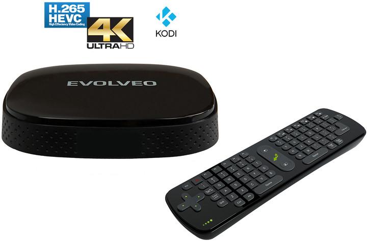 Evolveo Android Box Q3 4K + Evolveo FlyMotion