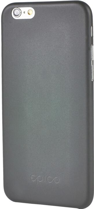 EPICO Ultratenký plastový kryt pro iPhone 6/6S TWIGGY MATT - černá