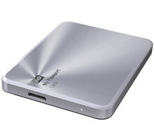 WD My Passport Ultra Metal - 2TB, stříbrná - WDBEZW0020BSL-EESN