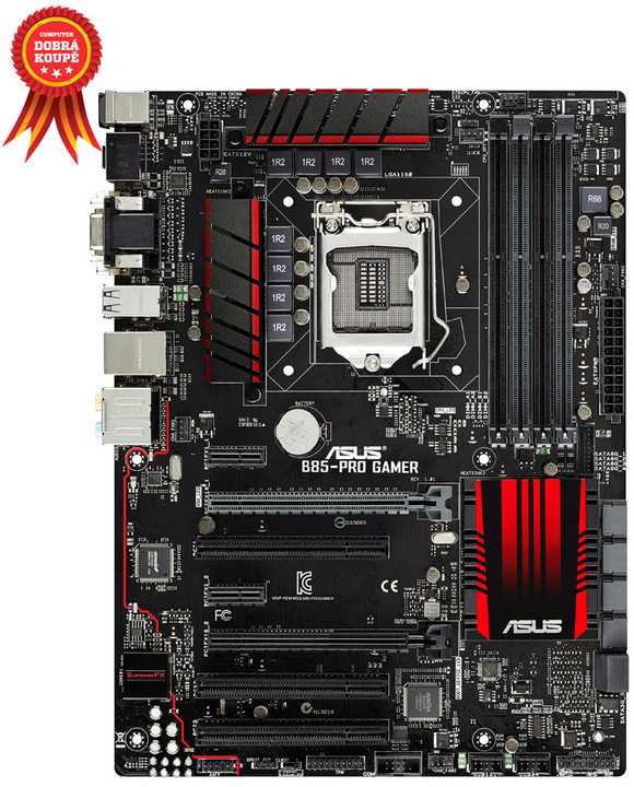 ASUS B85-PRO GAMER GAMING MB - Intel B85