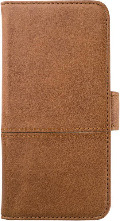 Holdit Wallet Case magnet Apple iPhone 6s,7,8 - Brown Leather