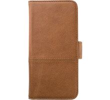 HOLDIT Wallet Case magnet Apple iPhone 6s,7 - Brown Leather - APPSHOWC007