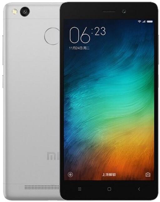 Xiaomi RedMi 3S - 16GB, šedá